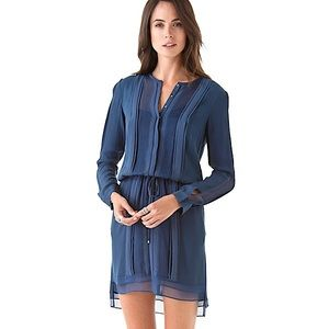 Diane von Furstenberg 'New Slice' Silk Dress